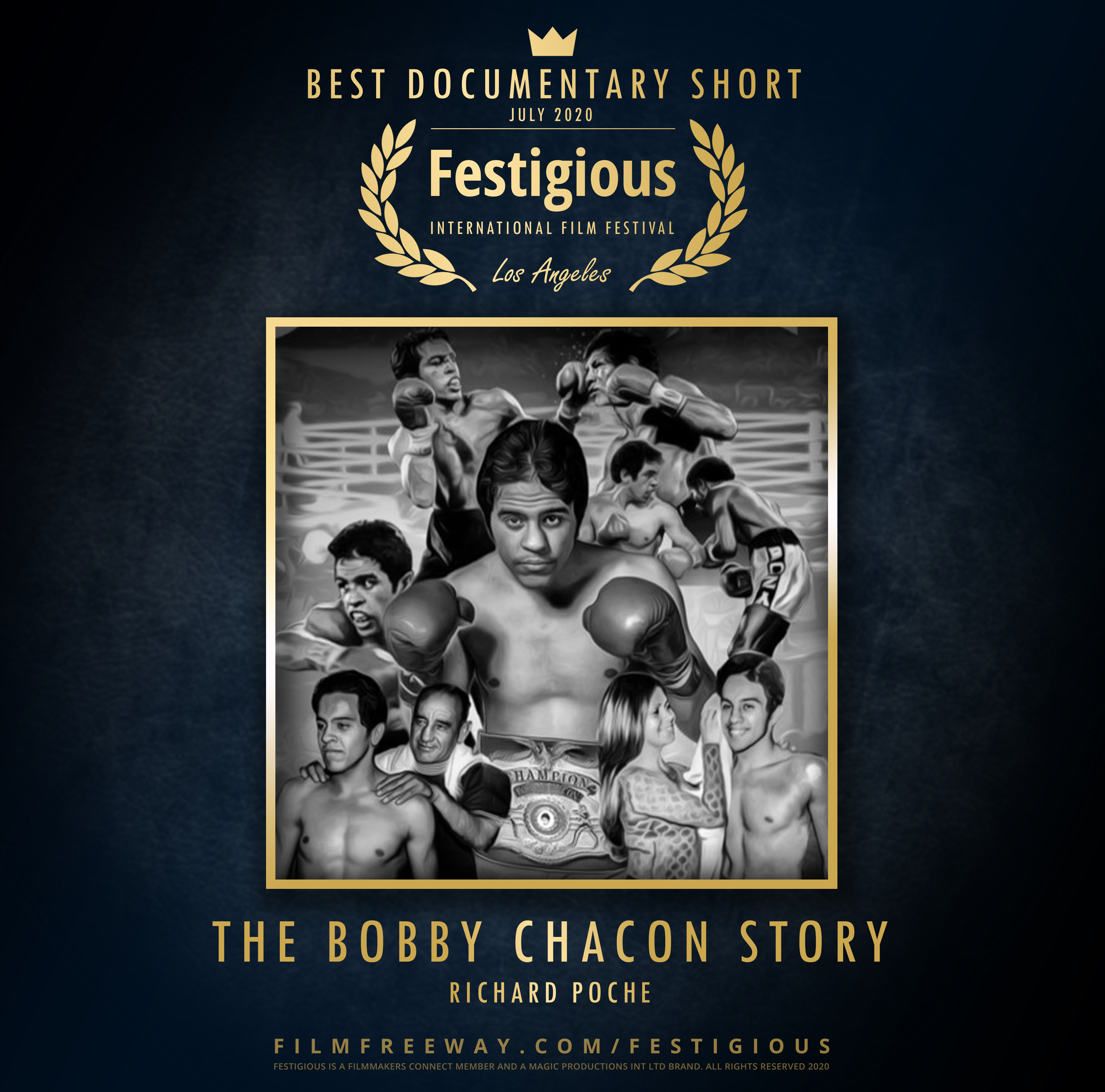 The Bobby Chacon Story design