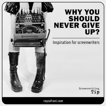 Why you should never give up?