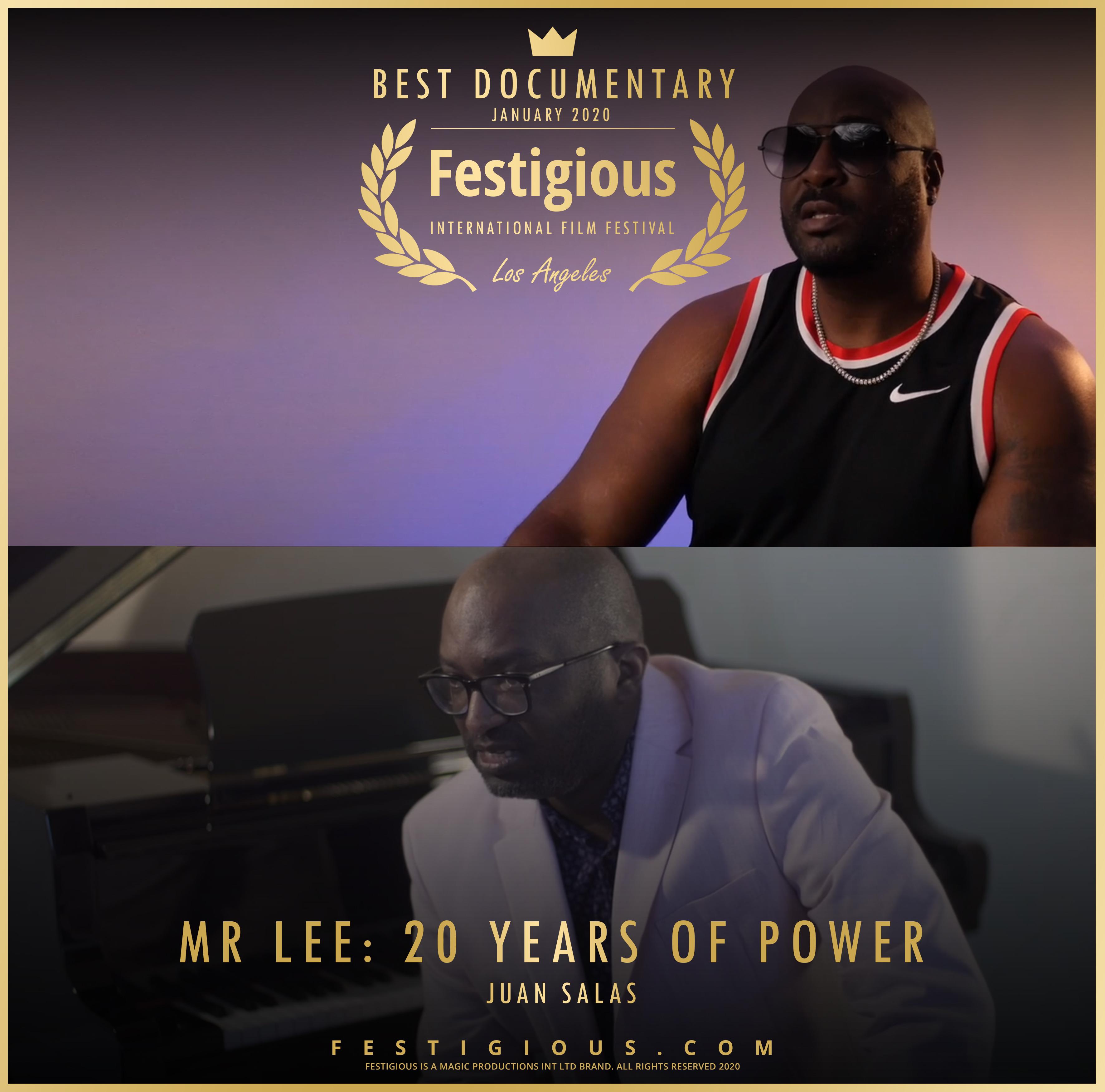 Mr Lee 20 Years of Power design