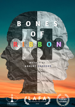 Bones of Ribbon poster white