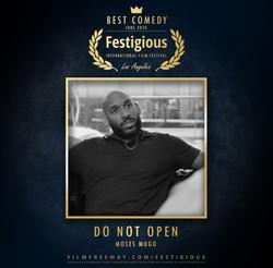 Do Not Open design