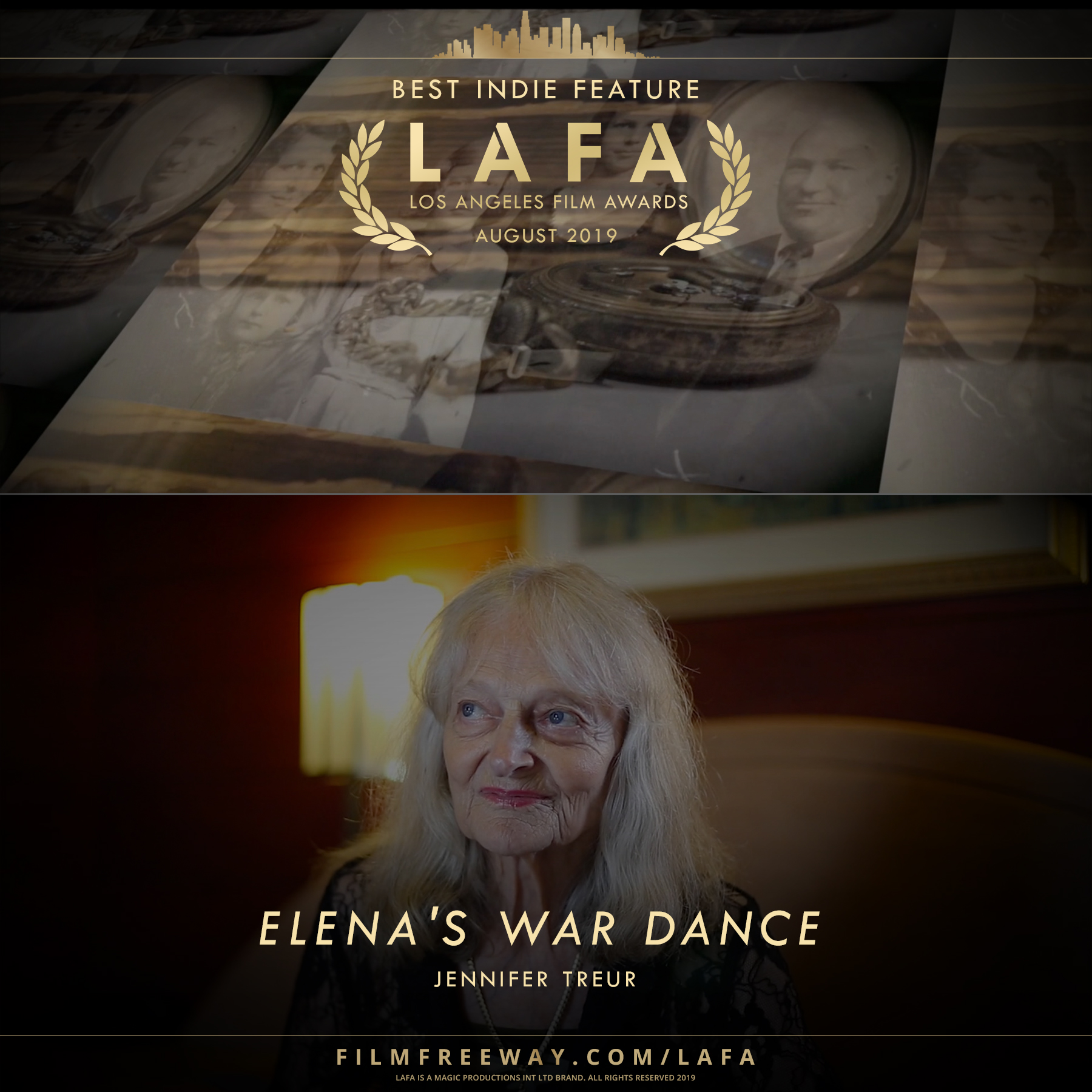 ELENA'S WAR DANCE design