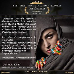 UNMASKED - LAFA Best First Time Director