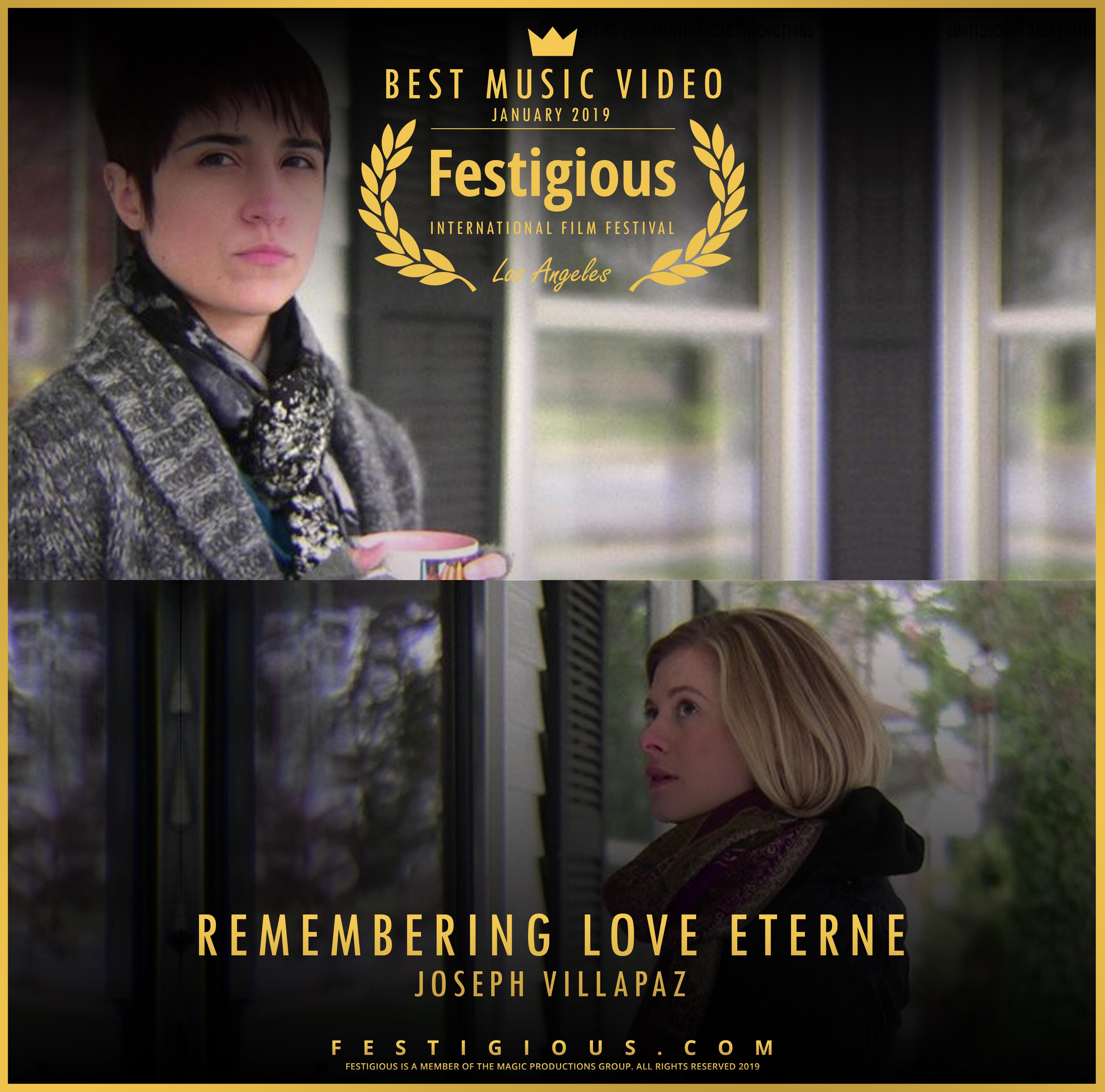 REMEMBERING LOVE ETERNE - Design