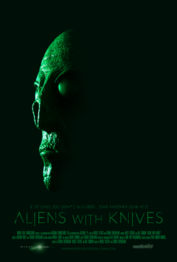 Aliens With Knives Poster