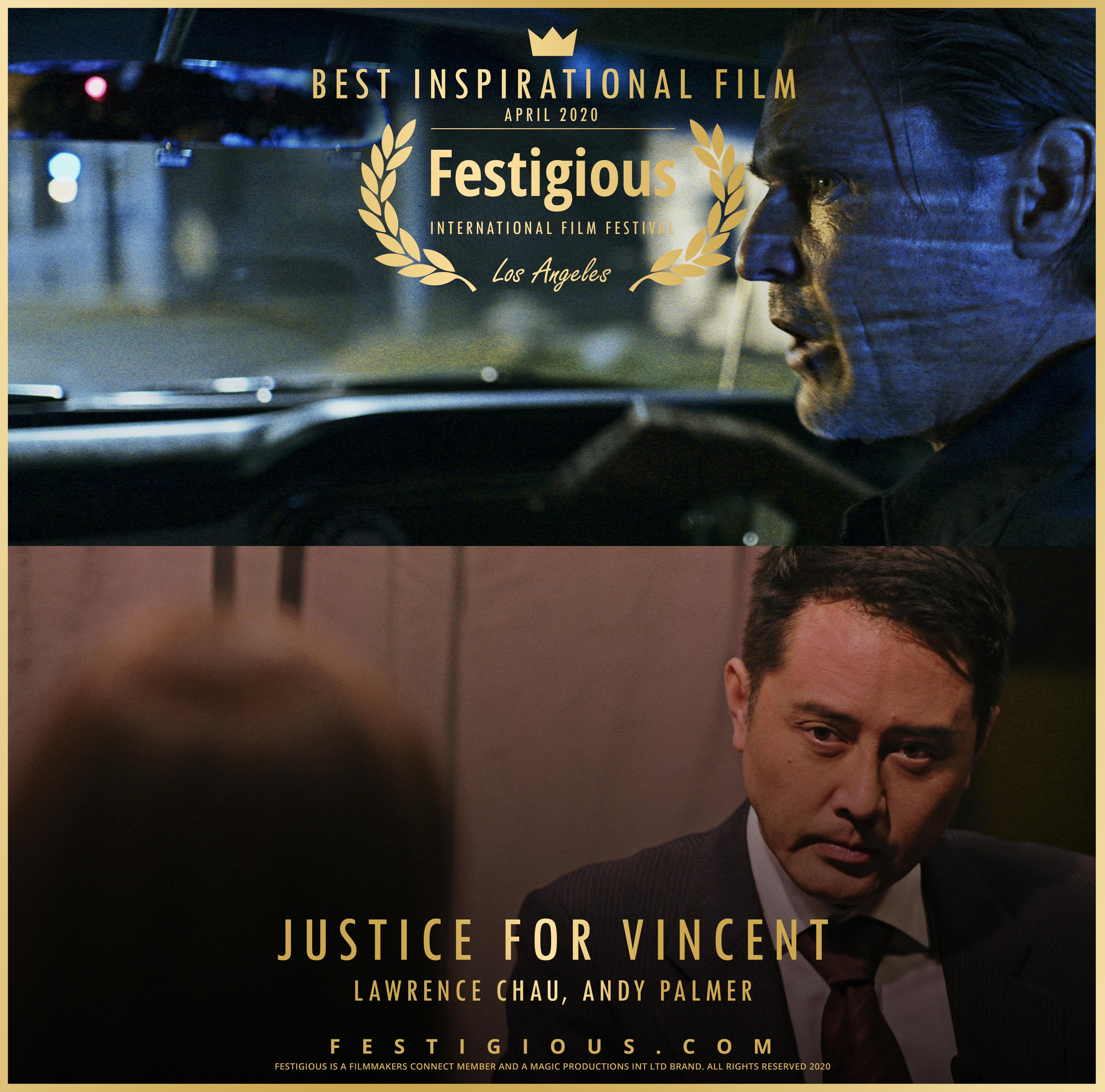 Justice for Vincent design