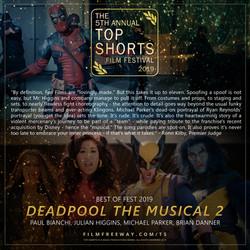 Deadpool The Musical 2 design