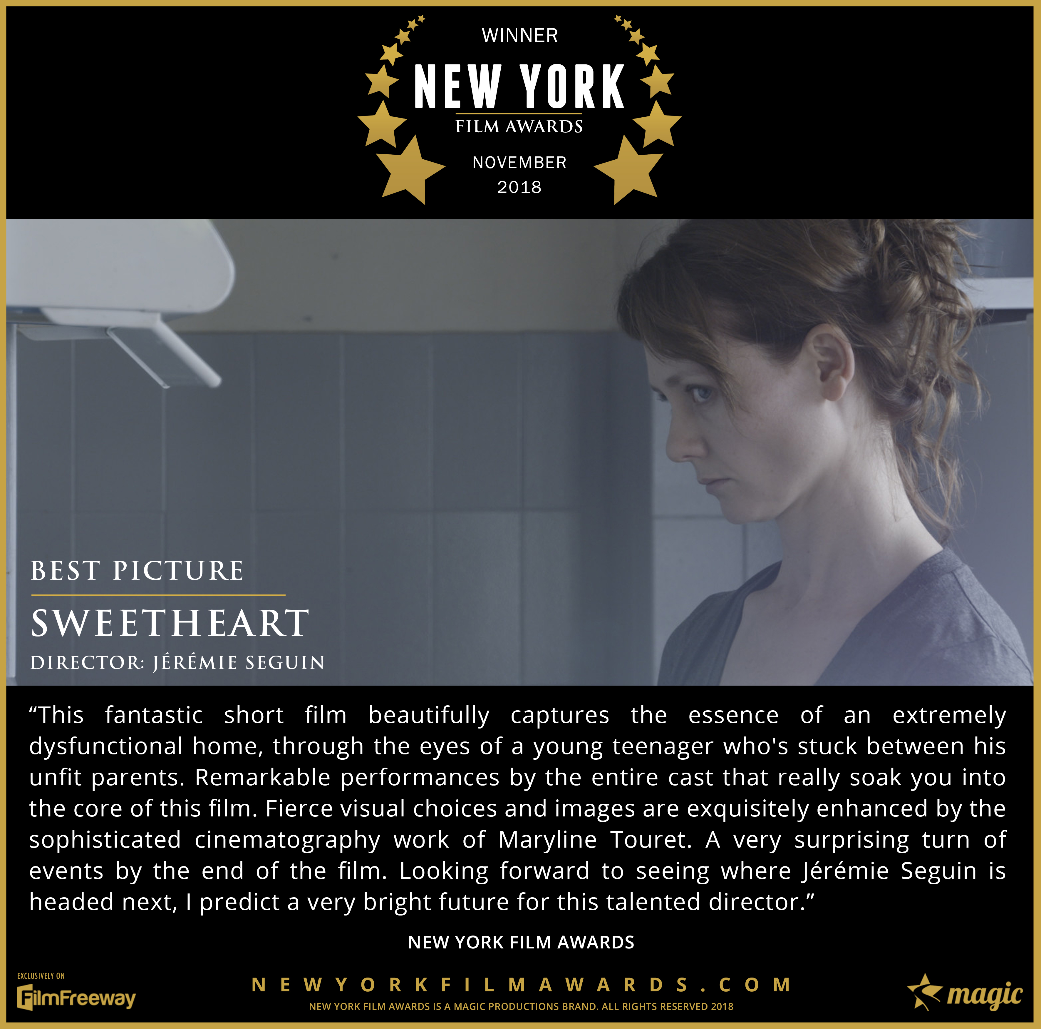 Sweetheart - 2018 11 Best Picture