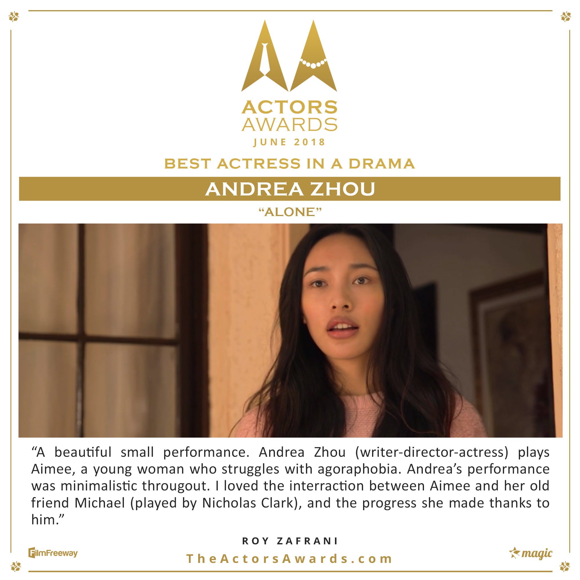 Alone 2018 06 Best Actress in a Drama