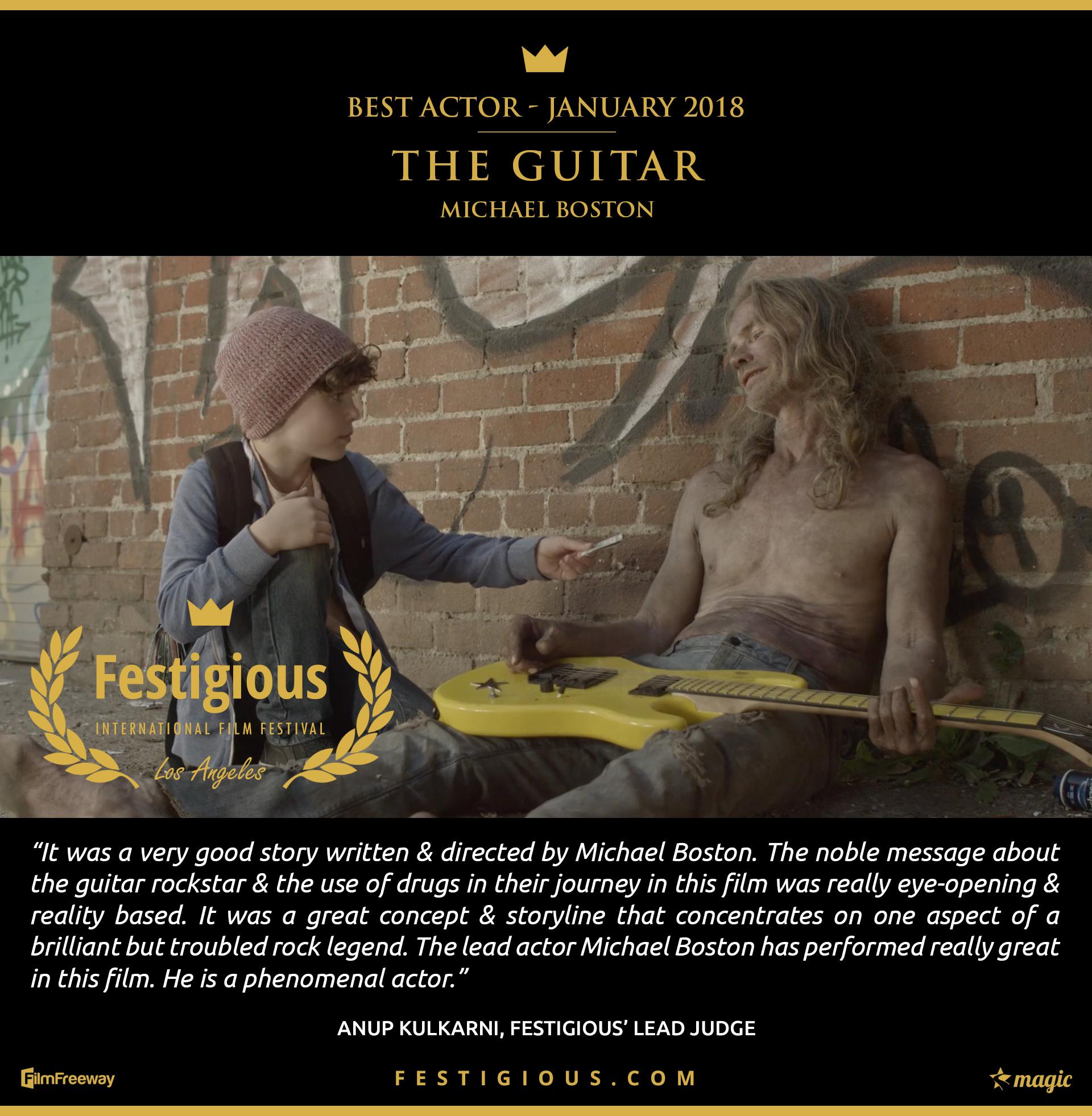 The Guitar - Best Actor