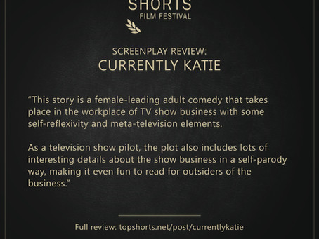 Screenplay Review: Currently Katie