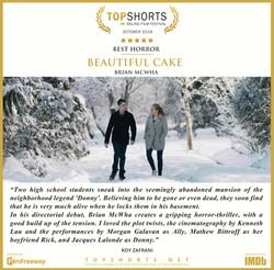 2018 10 Best Horror - Beautiful Cake