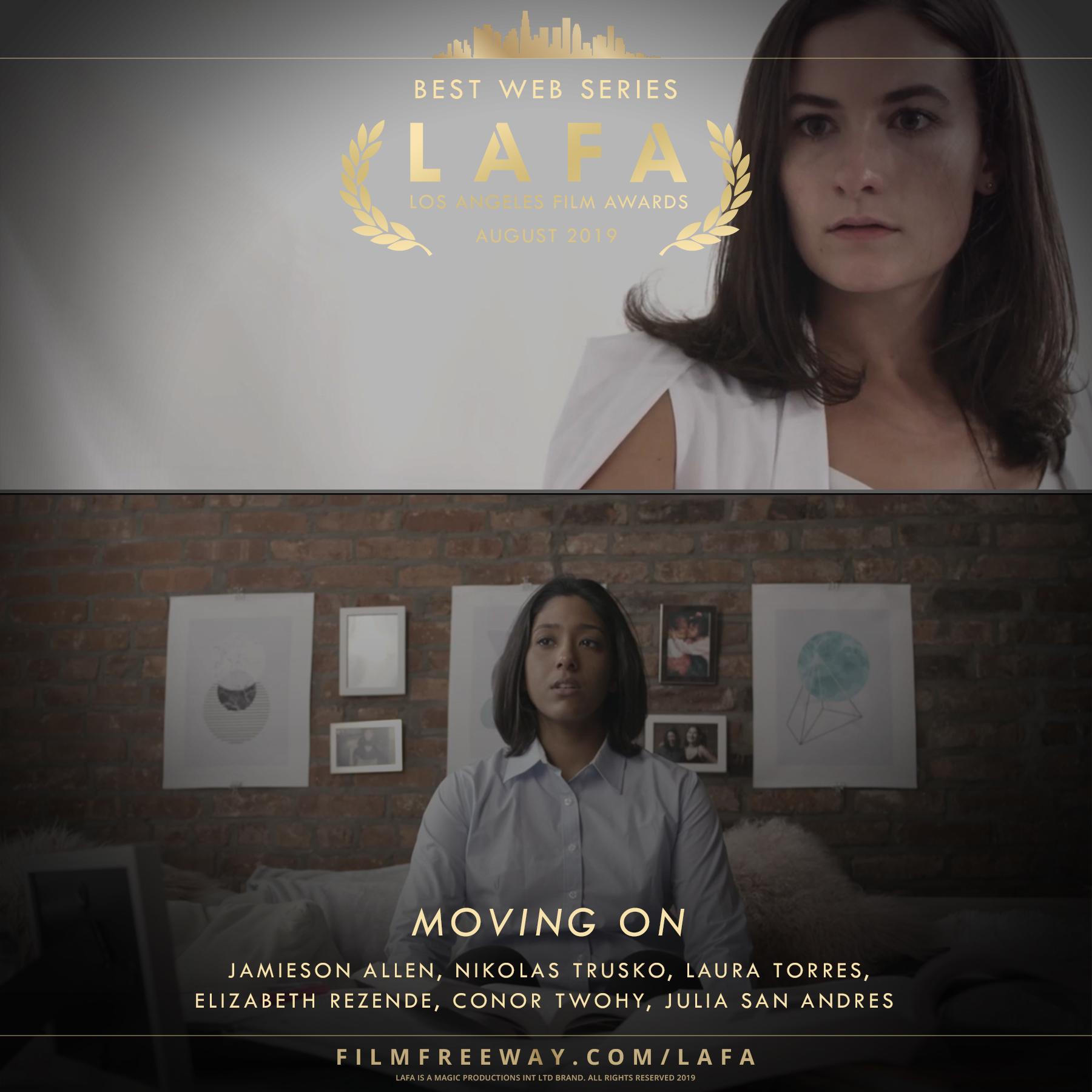 MOVING ON design