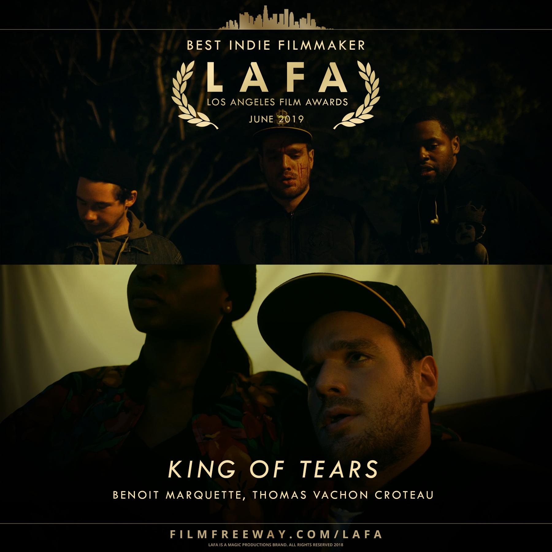 King of Tears design