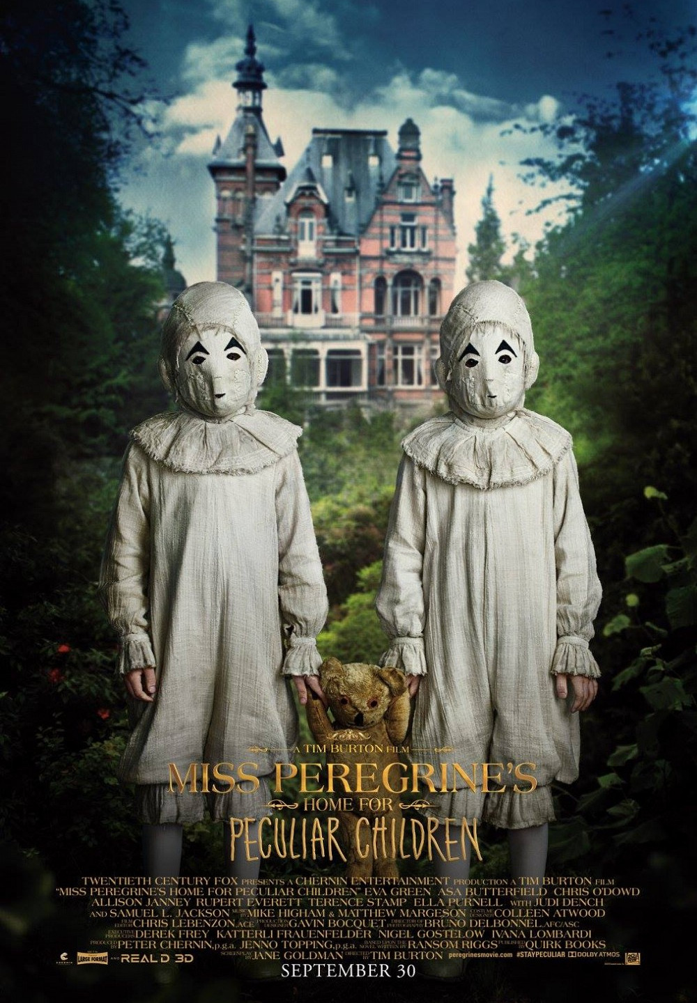 Miss-Peregrines-Home-for-Peculiar-Children-Poster-4
