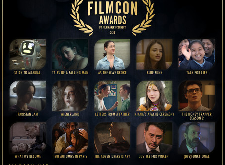 2nd Annual FilmCon Awards - Nominations