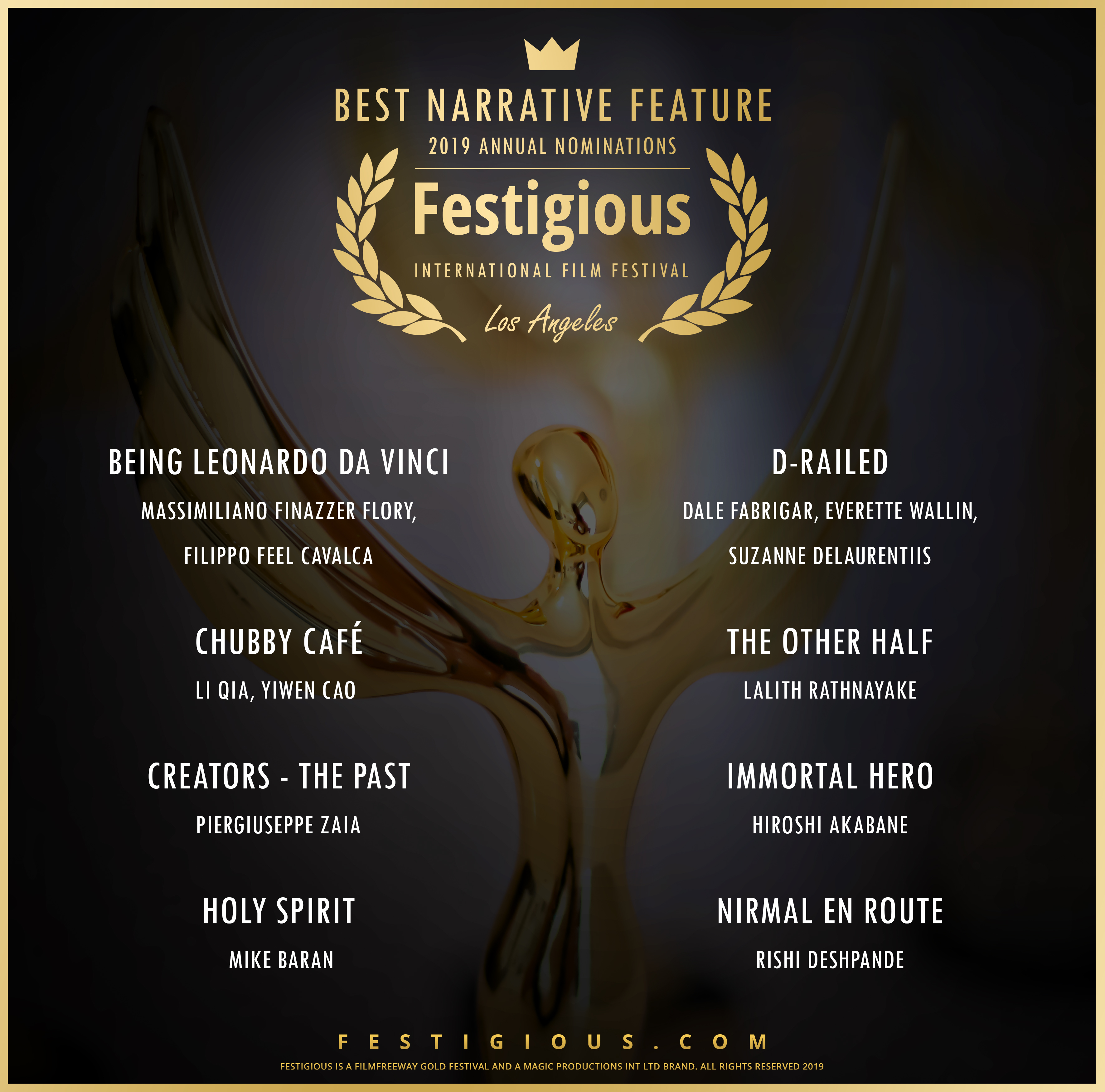 Festigious Best Narrative Feature