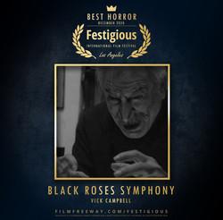 Black Roses Symphony design