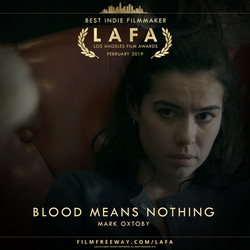 BLOOD MEANS NOTHING design