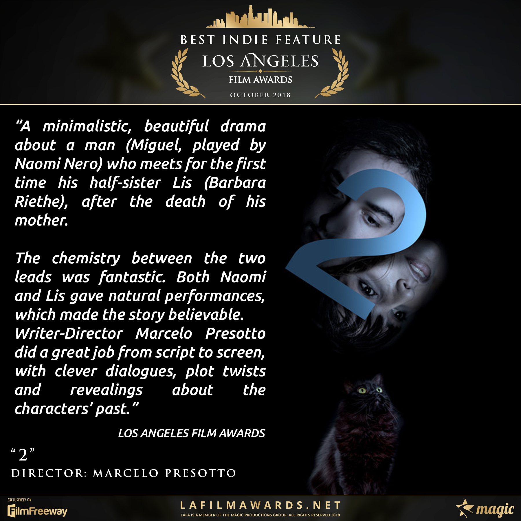 2 - LAFA Best Indie Feature - Review