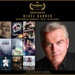 Festigious 2018 - Nigel Barber