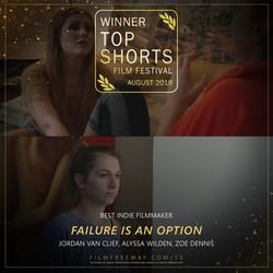 FAILURE IS AN OPTION design