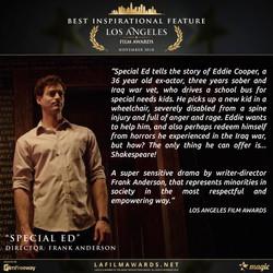 Special Ed - LAFA Best Inspirational Fil