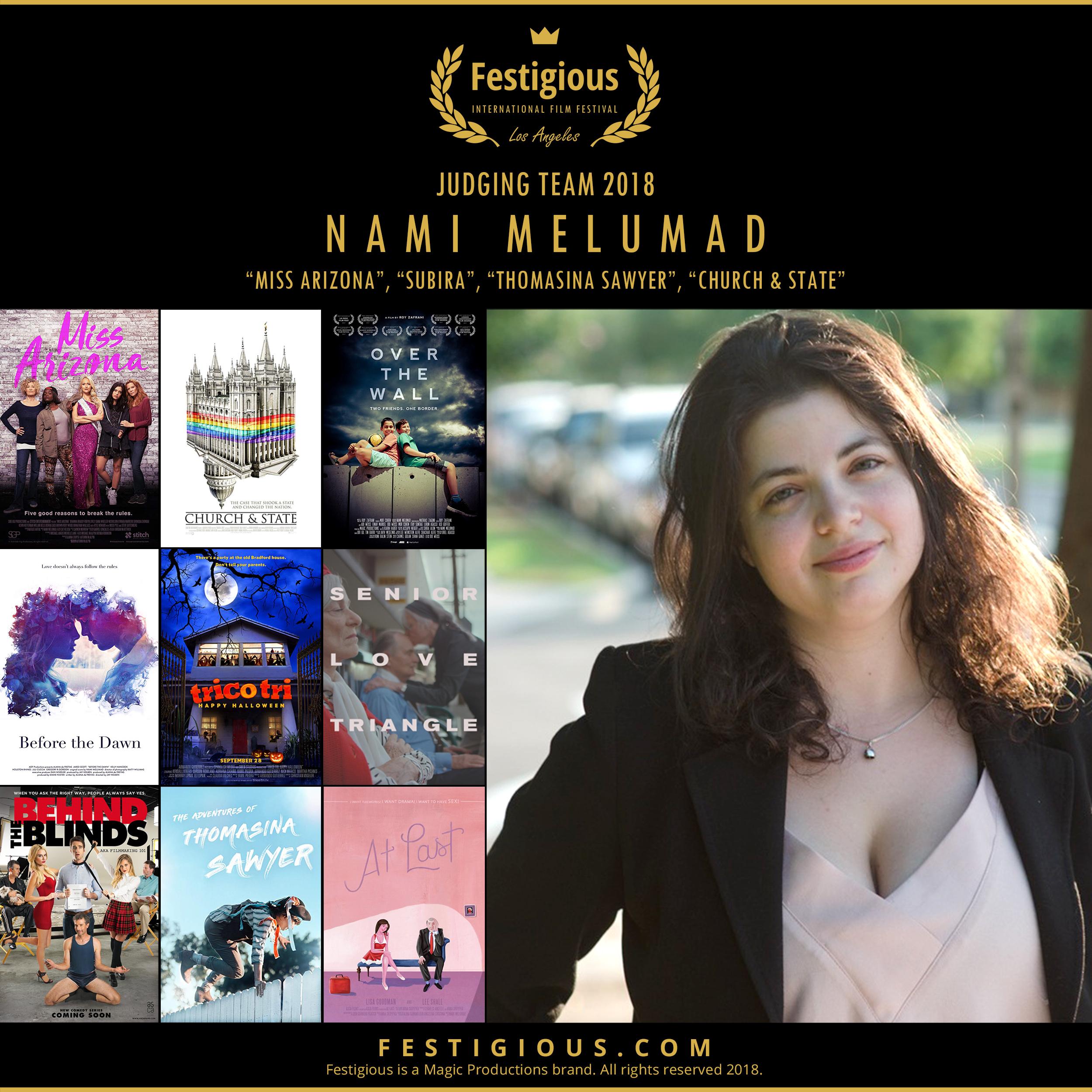 Festigious 2018 - Nami Melumad