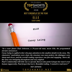 Elle - Best Screenplay