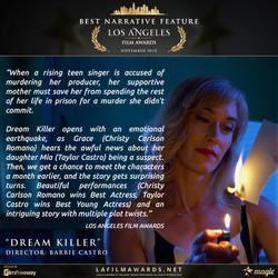 DREAM KILLER - LAFA Best Narrative Featu