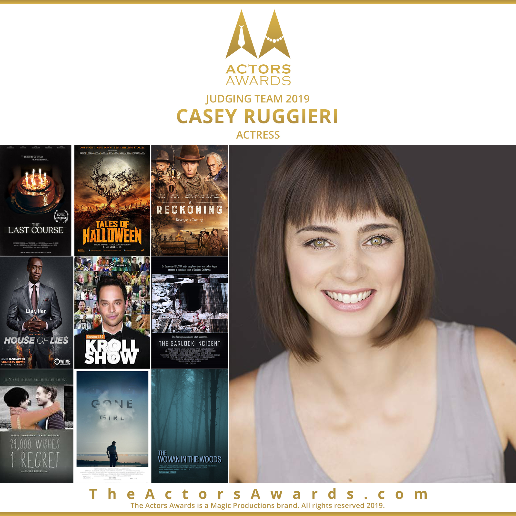 Actors Awards 2019 - Casey Ruggieri
