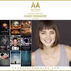 Actors Awards 2019 - Casey Ruggieri