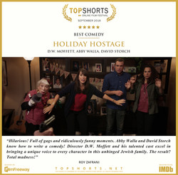 2018 09 Best Comedy - HOLIDAY HOSTAGE