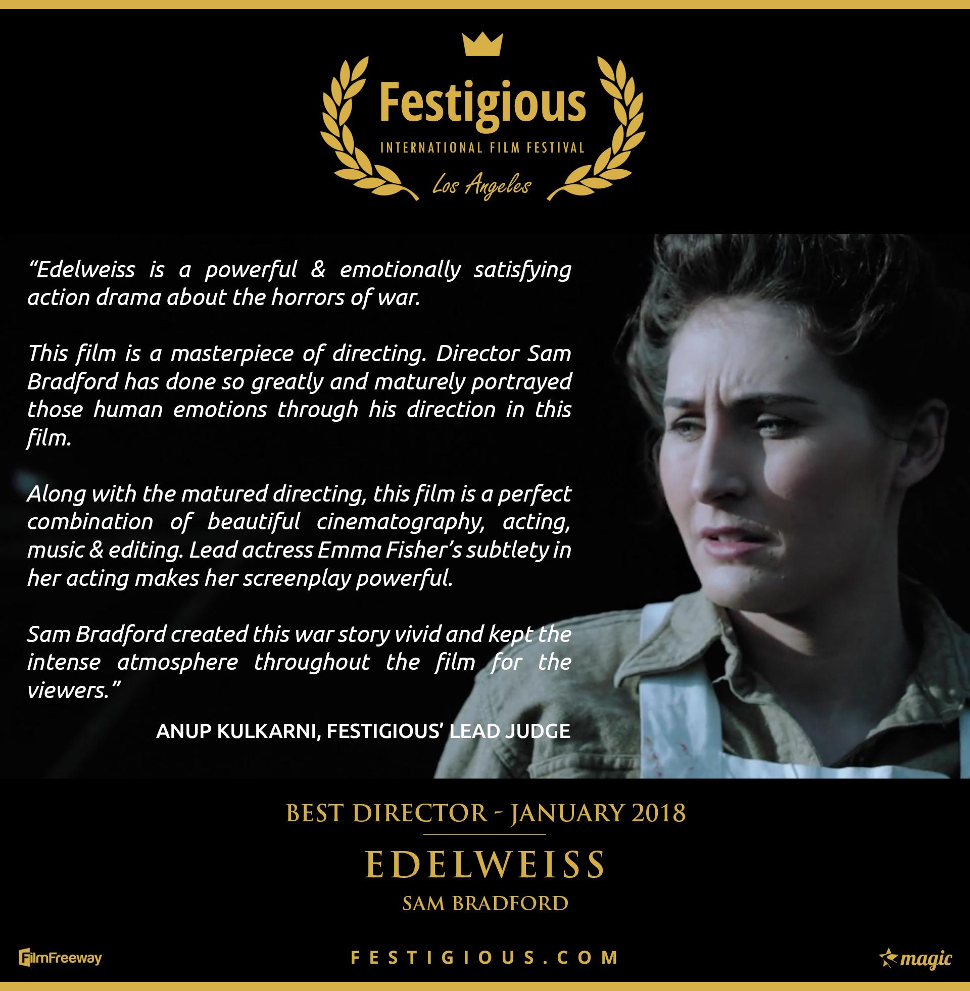 Edelweiss - Best Director
