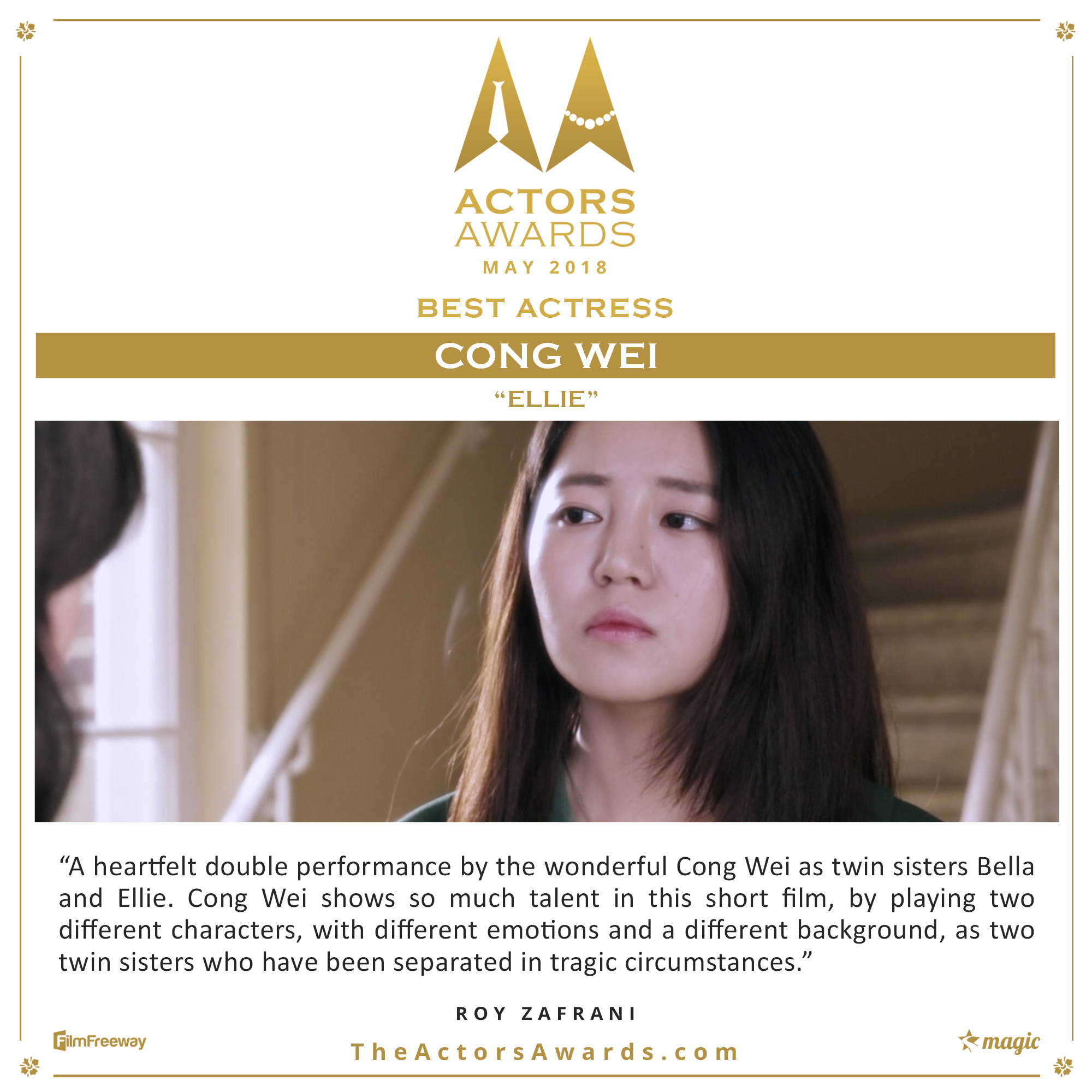 Ellie 2018 05 Best Actress