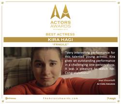 Fragile 2017 12 Best Actress
