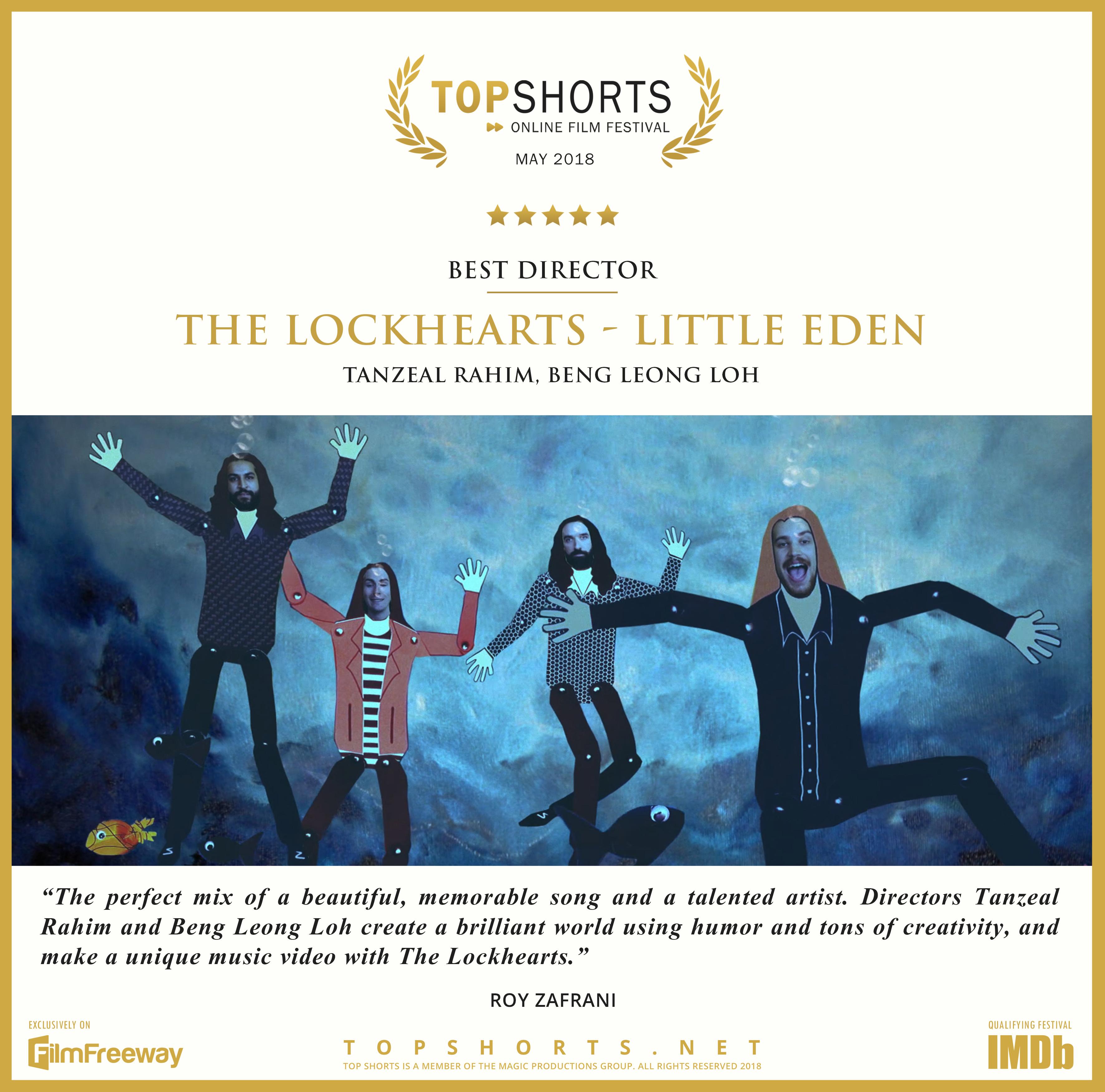 2018 05 Best Director - The Lockhearts - Little Eden