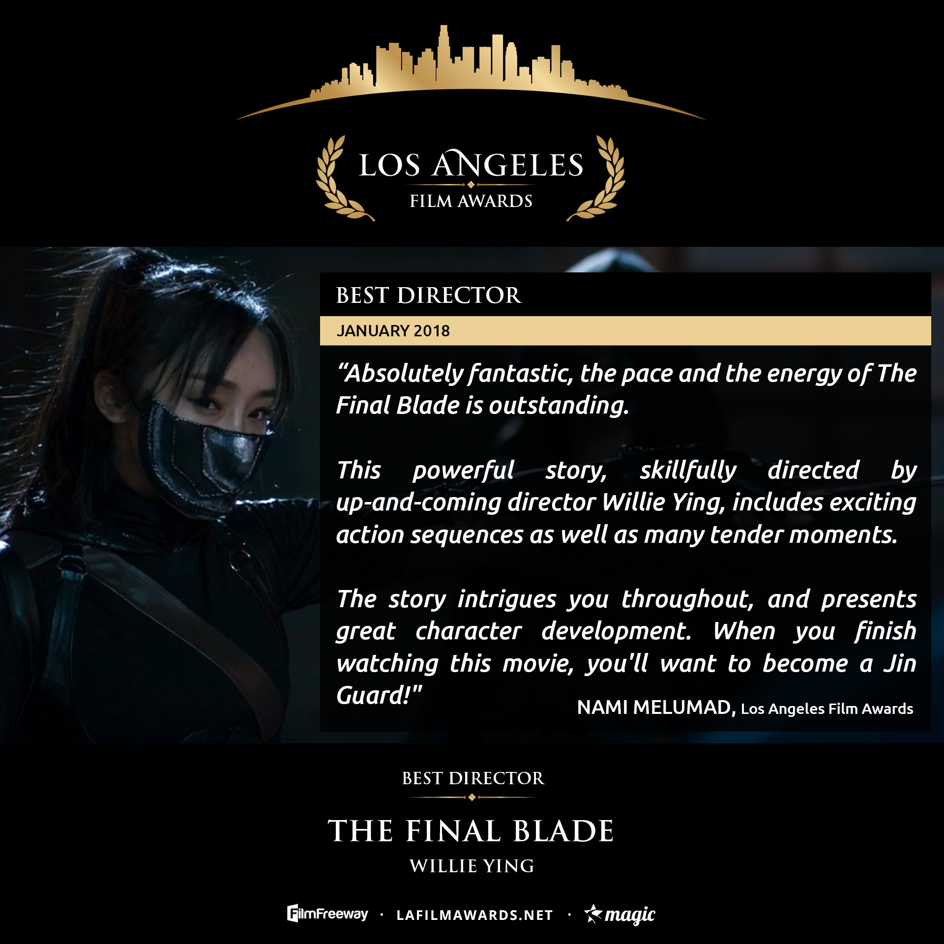 THE FINAL BLADE - LAFA Best Director - Review