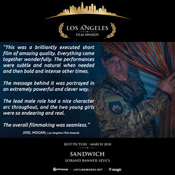 SANDWICH - LAFA Best Picture - Review