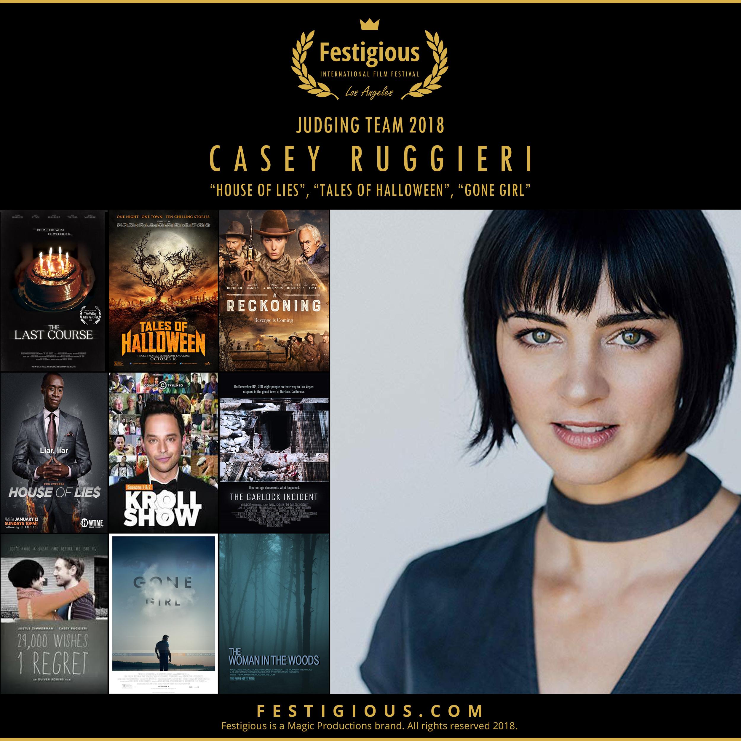 Festigious 2018 - Casey Ruggieri