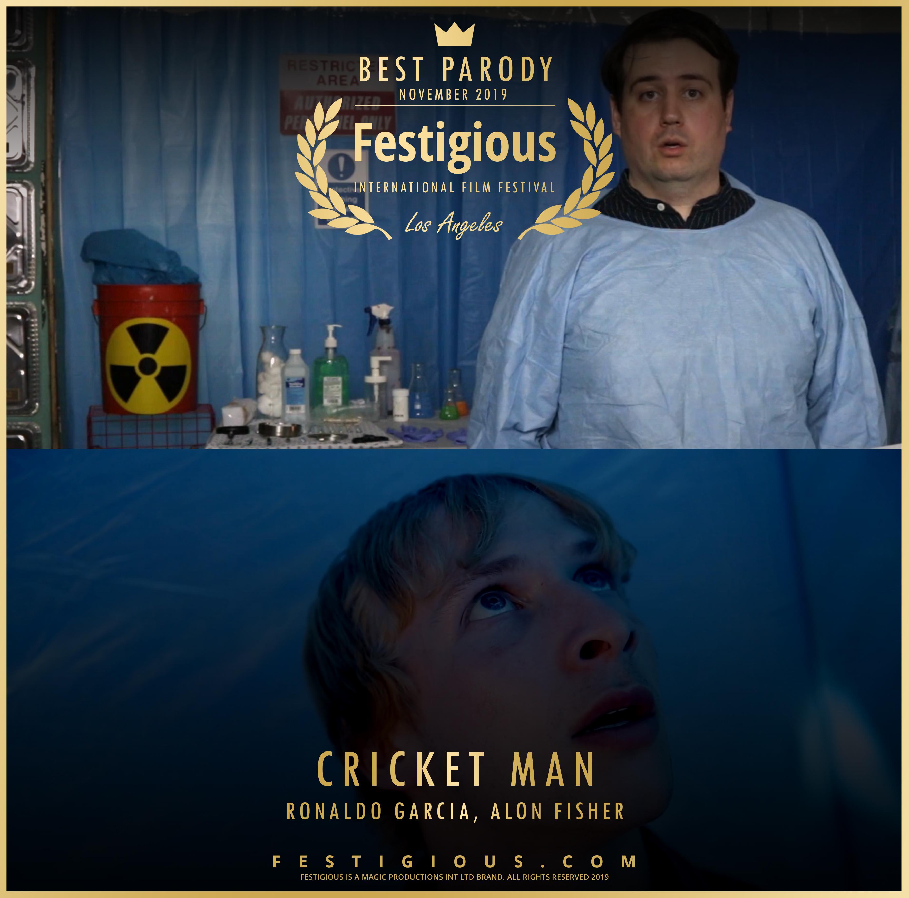 Cricket Man design