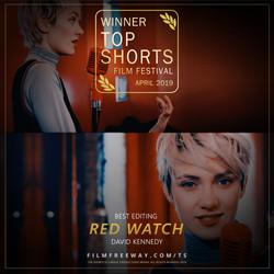 RED WATCH design