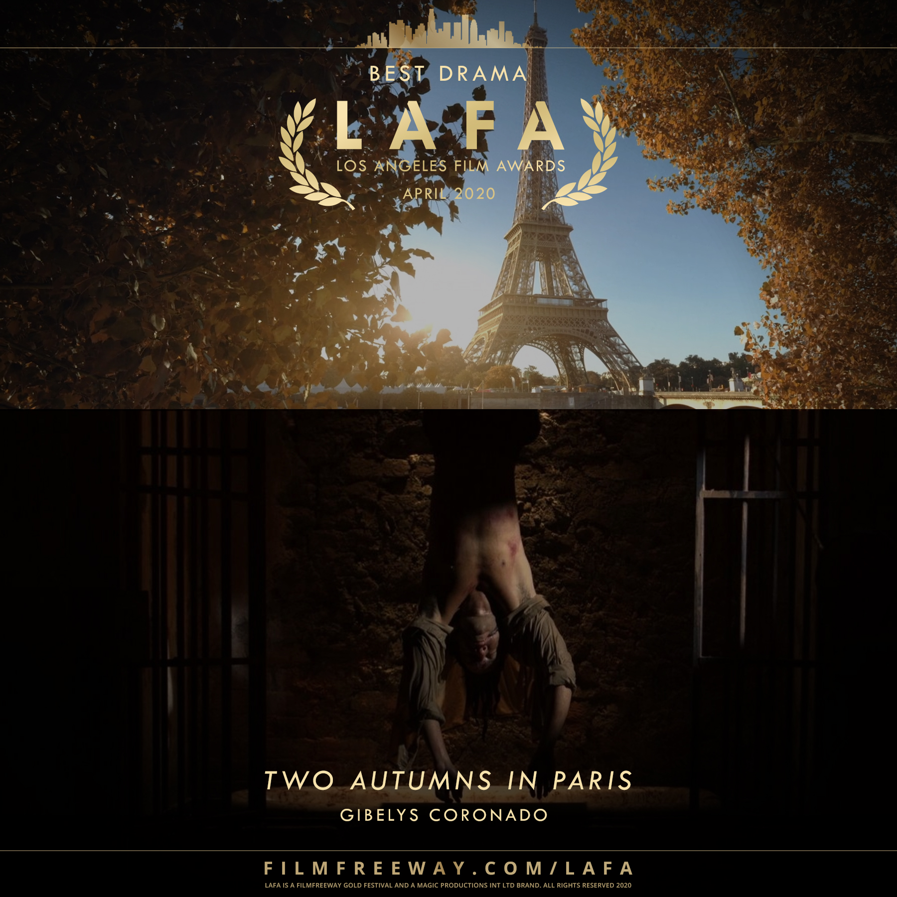 Two Autumns in Paris design