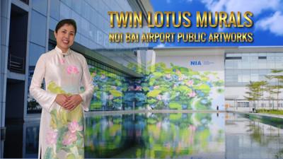Twin Lotus Murals
