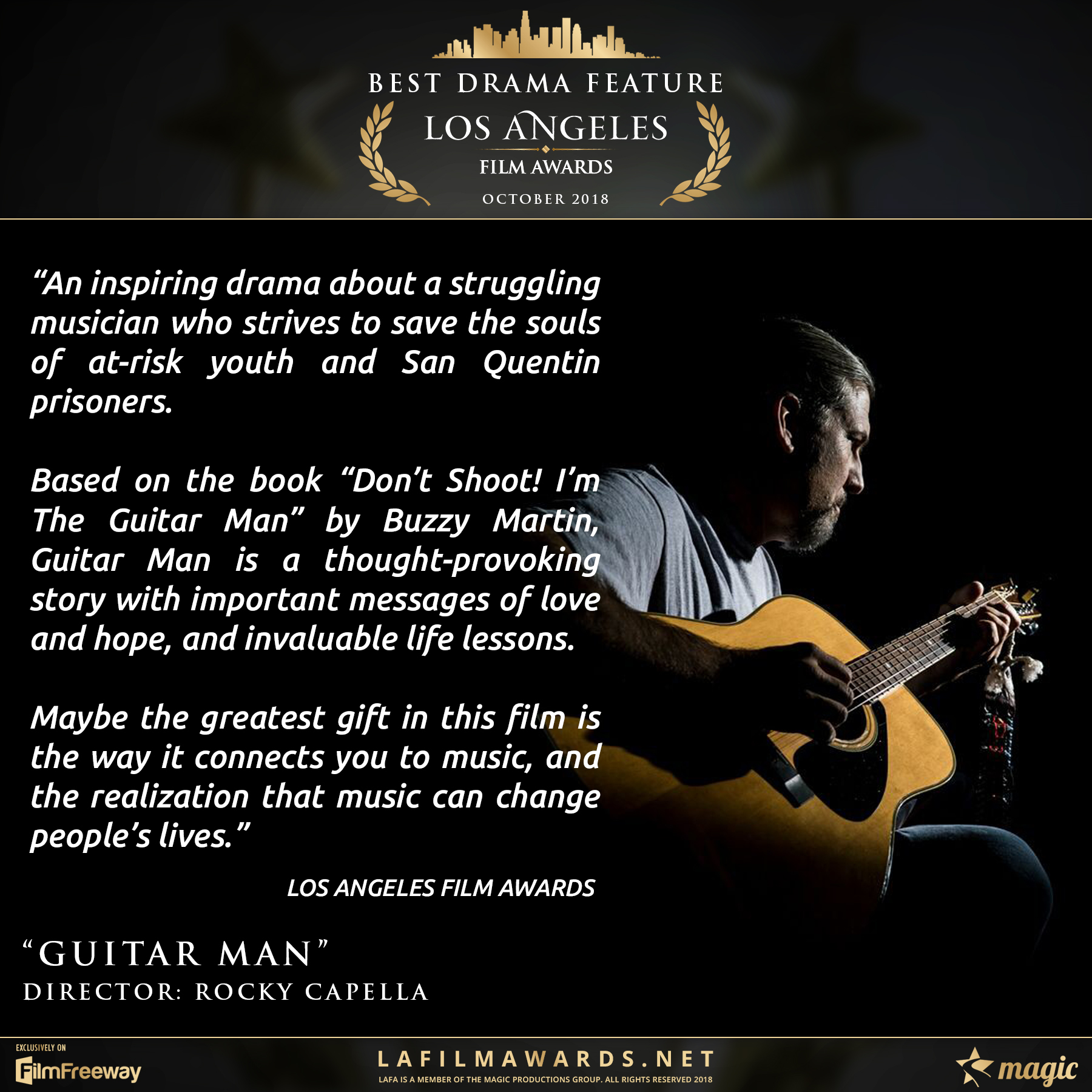 Guitar Man - LAFA Best Drama Feature - R