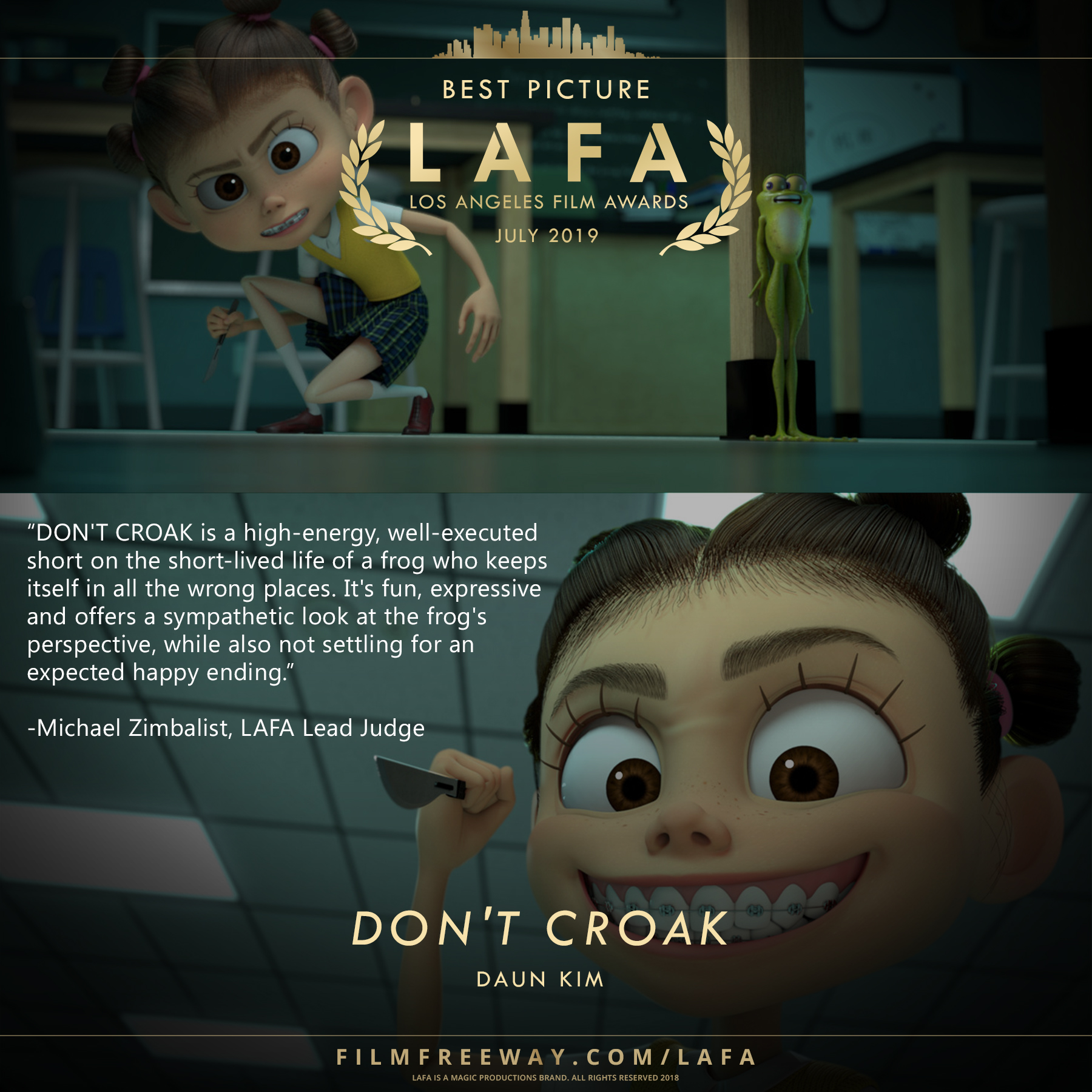 DON'T CROAK Review