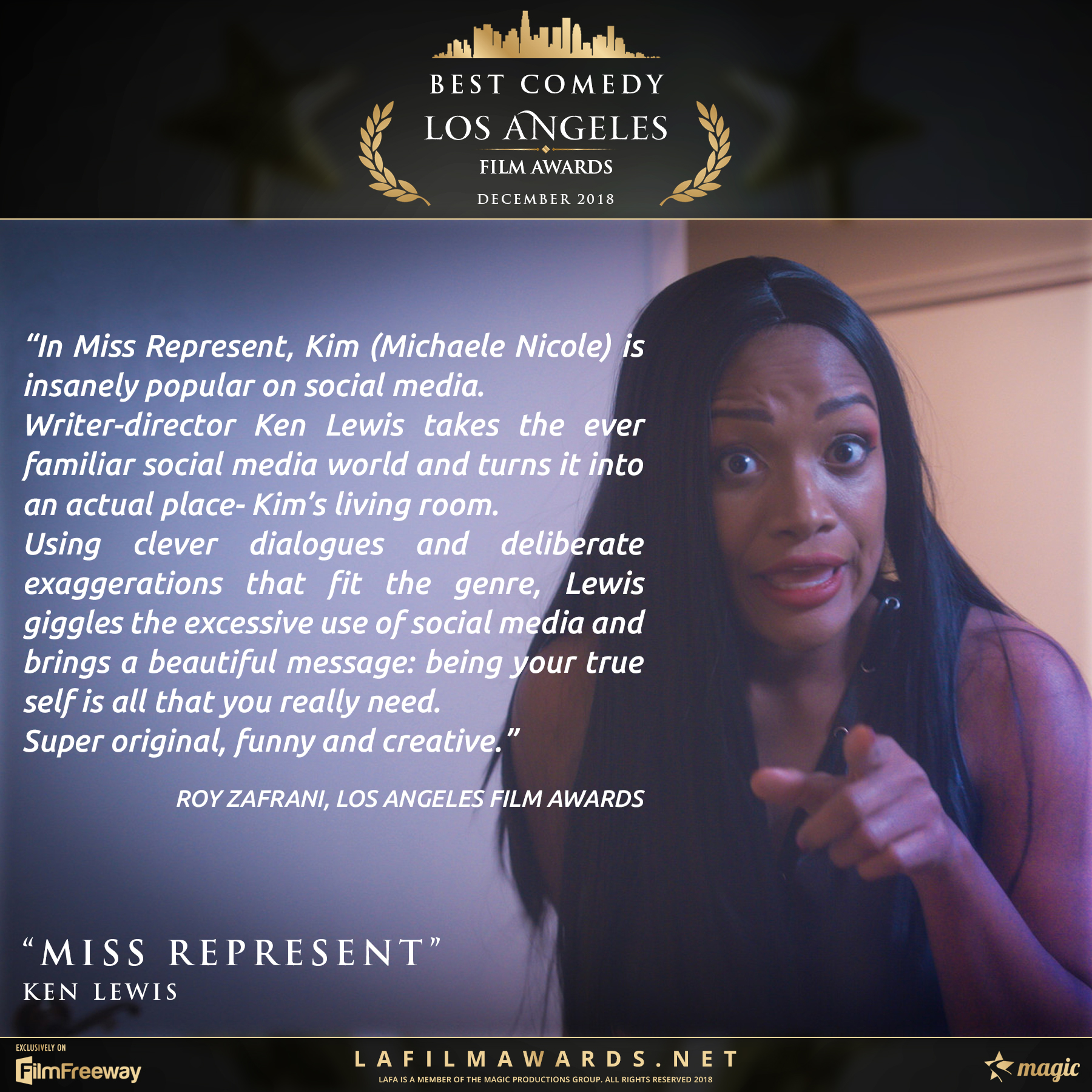 MISS REPRESENT - Review