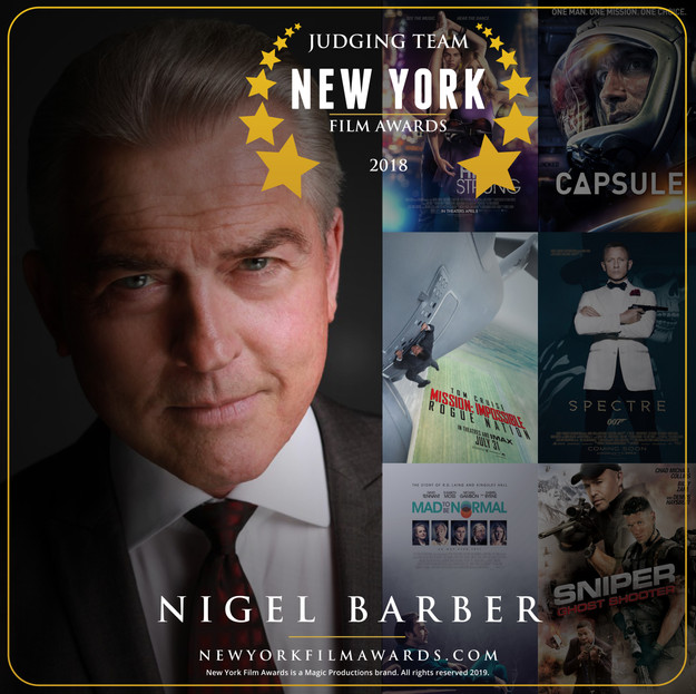 New York Film Awards 2018 Annual Nigel B