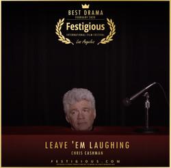 Leave 'em Laughing design