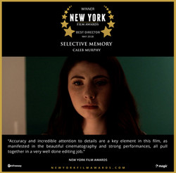 Selective Memory - 2018 05 Best Director